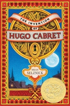 Book cover for The invention of Hugo Cabret