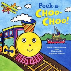 Book cover for Peek-a-choo-choo!