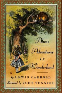Book cover for Alice\'s adventures in Wonderland