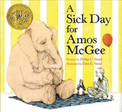 Book cover for A sick day for Amos McGee
