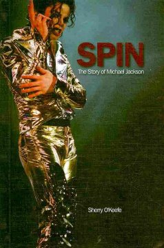 Book cover for Spin : the story of Michael Jackson