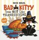 Bad Kitty does not like Thanksgiving Book Cover