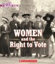 Women and the right to vote Book Cover