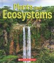 Plants and ecosystems Book Cover
