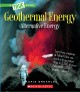 Geothermal energy : the energy inside our planet Book Cover