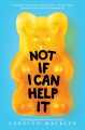 Not if I can help it Book Cover