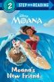 Moana's new friend Book Cover