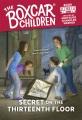 Secret on the thirteenth floor Book Cover