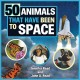 50 animals that have been to space Book Cover