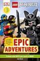 LEGO Ninjago epic adventures Book Cover