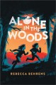 Alone in the woods Book Cover