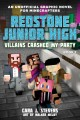 Redstone Junior High. Book 2, Creepers crashed my party Book Cover