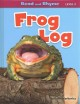 Frog log Book Cover
