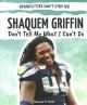 Shaquem Griffin : don't tell me what I can't do Book Cover