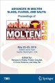 Advances in Molten Slags, Fluxes, and Salts: Proceedings of the 10th International Conference on Molten Slags, Fluxes and Salts 2016 [electronic resource] / edited by Ramana G. Reddy, Pinakin Chaubal, P. Chris Pistorius, Uday Pal.