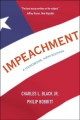 Book jacket for Impeachment : a handbook