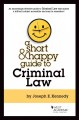 Book jacket for A short & happy guide to criminal law