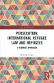 Book jacket for Persecution, international refugee law and refugees : a feminist approach /
