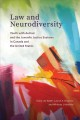 Book jacket for Law and neurodiversity : youth with autism and the juvenile justice systems in Canada and the United States