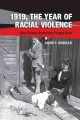 Book jacket for 1919, the year of racial violence : how African Americans fought back