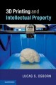 Book jacket for 3D printing and intellectual property