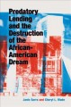 Book jacket for Predatory lending and the destruction of the African-American dream