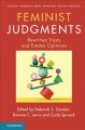Book jacket for Feminist judgments, rewritten trusts and estates opinions