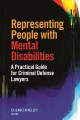 Book jacket for Representing people with mental disabilities