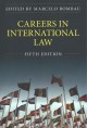 Book jacket for Careers in international law