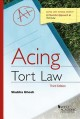 Book jacket for Acing tort law : a checklist approach to tort law