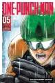 Wanpanman. English;One-punch man. 05 / story by ONE   art by Yusuke Murata   translation, John Werry.