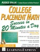 College placement math : in 20 minutes a day / Catherine V. Jeremko and Colleen M. Schultz