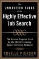 The Unwritten Rules of the Highly Effective Job Search: Land a Job You Love Using the Methods Top Career Professionals Teach Their Private Clients (Hardcover Book) at Sears.com