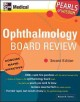 Ophthalmology Board Review (Paperback Book) at Sears.com