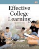 Effective College Learning: Plus New Mystudentsuccesslab With Pearson Etext Access Card (Paperback Book) at Sears.com