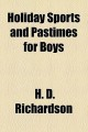 Holiday Sports and Pastimes for Boys (Paperback Book) at Sears.com