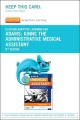 Elsevier Adaptive Learning for Kinn's the Administrative Medical Assistant Access Card (Pass Code Book) at Sears.com