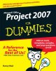 Microsoft Office Project 2007 for Dummies (Paperback Book) at Sears.com