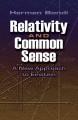 Relativity and Common Sense: A New Approach to Einstein (Paperback Book) at Sears.com