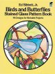 Birds and Butterflies Stained Glass Pattern Book: 94 Designs (Paperback Book) at Sears.com