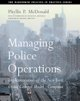Managing Police Operations: Implementing the New York Crime Control Model-Compstat (Paperback Book) at Sears.com
