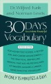 30 Days to a More Powerful Vocabulary (Paperback Book) at Sears.com