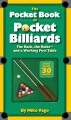 The Pocket Book of Pocket Billiards: The Rack, the Rules-and a Working Pool Table (Paperback Book) at Sears.com