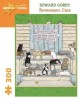 Edward Gorey - Seventeen Cats: 300 Piece Puzzle (Game Book) at Sears.com