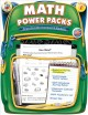 Math Power Packs, Grade 1: Reproducible Homework Packets (Paperback Book) at Sears.com