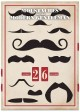 Moustaches for the Modern Gentleman: A Perpetual Wall Calendar (Calendar) at Sears.com