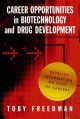 Career Opportunities in Biotechnology and Drug Development (Paperback Book) at Sears.com