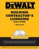 Dewalt Building Contractor's Licensing Exam Guide (Paperback Book) at Sears.com