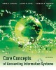Core Concepts of Accounting Information Systems (Paperback Book) at Sears.com
