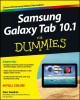 Samsung Galaxy Tab 10.1 for Dummies (Paperback Book) at Sears.com